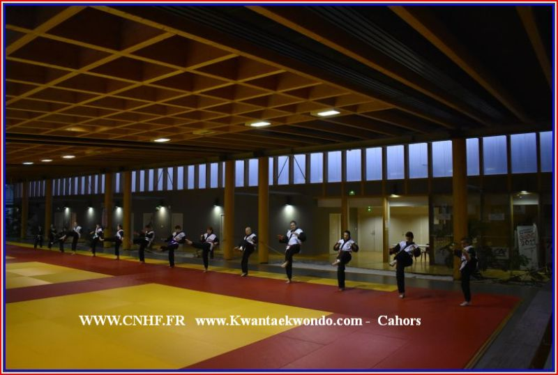 Cahors Hapkido 1 . groupe Hap